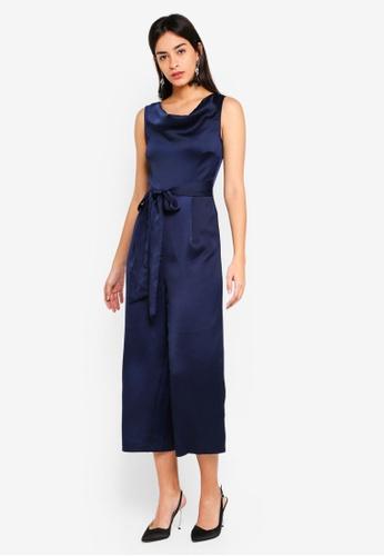 1789101dfed4 Shop WAREHOUSE Cowl Culotte Jumpsuit Online on ZALORA Philippines