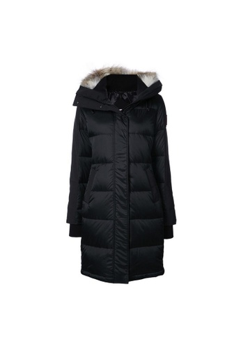 Canada Goose black Canada Goose Shelburne Down Coat in Black 6CDB8AAF982692GS_1