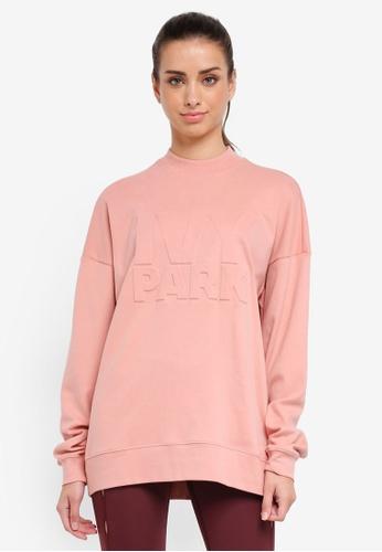 Ivy Park pink Embossed Logo Sweat 15D96AA8522C7CGS_1