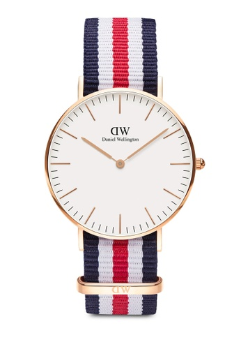 Daniel Wellington gold Classic Canterbury 36mm Rose Gold Watch 8762EAC0672EEAGS_1