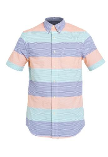 4885fa922f8 CHAPS multi Chaps Striped Poplin Button Down Shirt 2C36CAAE2B8F9AGS_1