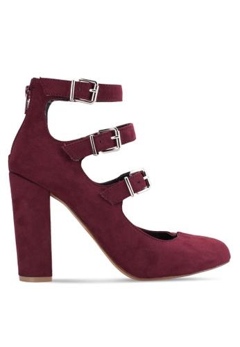 Dorothy Perkins red Burgundy 'Dandelion' Court Heels DO816SH43TXWMY_1