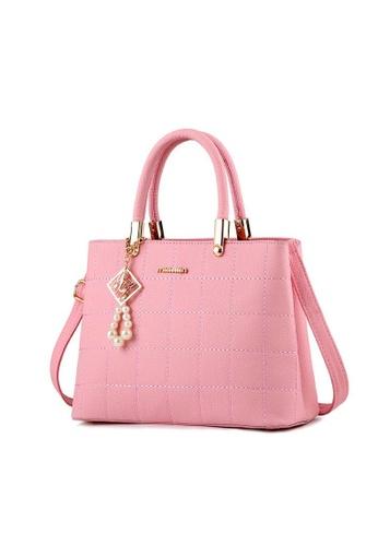 24a9d8fcc13 TCWK pink TCWK Korea Style Women Handbag - Pink F61FEAC57E4431GS 1