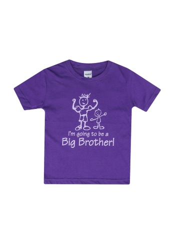 UniqTee purple Pack of 2 – I Am Going Tee F7866KA73A28FEGS_1