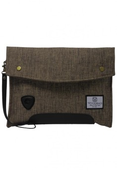 harga Woodbags Carbon Clutch - Golden Plate Zalora.co.id