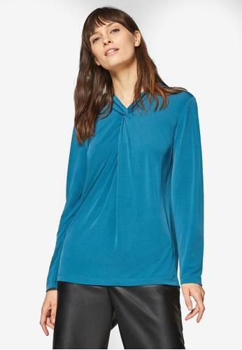 ESPRIT blue Long Sleeve Top AA50FAAE08E9EEGS_1