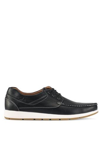Rocklander black Boat Shoes 6CFDESH7E05066GS_1