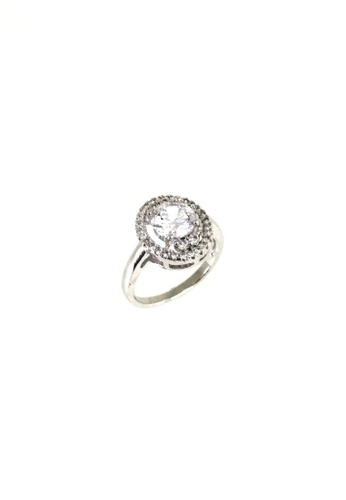 LOVE AND LIFE white Cubic Zirconia Fashion Ring (HSR0019) 2874AAC282BF3BGS_1