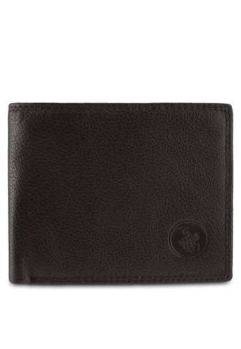 Swiss Polo brown Swiss Polo Genuine Leather Wallet DD47DAC3F0CD06GS_1