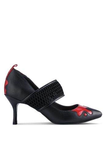 House of Avenues black Pointy Heels HO685SH84CBRMY_1