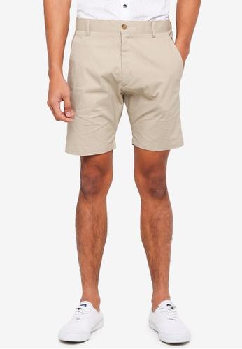 ESPRIT 米褐色 Woven Regular Shorts 4BB58AA8D566EBGS_1