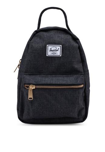 Herschel black Nova Mini Backpack 916D0ACA360BD3GS_1