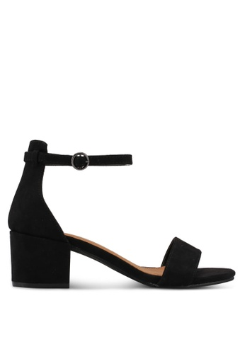 Rubi black Ivy Low Block Heels 6B56ESH94963B7GS_1