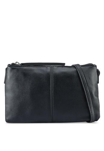 Pieces black Minna Cross Body Bag 29A39ACE219EE6GS_1