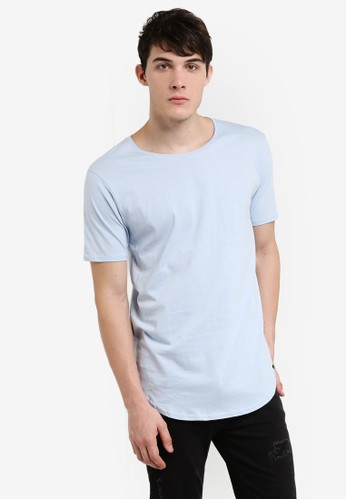 Factorie blue The Curved Tall Tee FA113AA0UA1EID_1