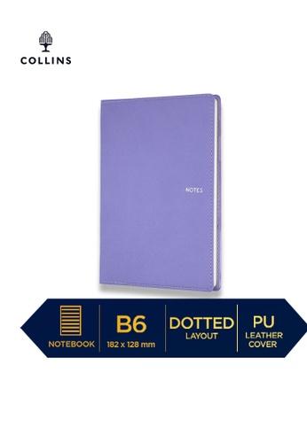 Collins purple Collins Metropolitan Melbourne  ─  Notebook B6 Dotted Lilac 76CFDHLF562302GS_1