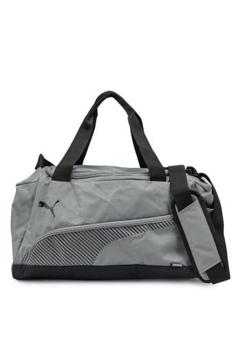 PUMA grey Fundamentals Sports Bag 979CBAC75547AAGS_1