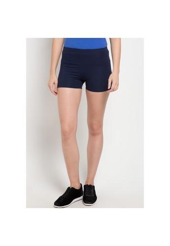 Opelon blue and navy Opelon Celana Olahraga Wanita - Mini Short Navy 33048AA9413559GS_1