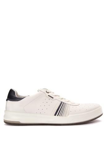 ECCO white Jack Sneakers EC876SH0JC8BPH_1