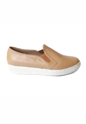 HDY beige Reese Slip-On  Shoes HD484SH52HYHPH_1