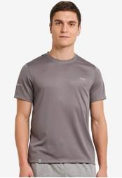 2GO grey GO Dry Round Neck Short Sleeve T-Shirt 2G729AA0S5ZVMY_1
