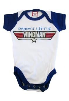 Daddy's Little Wingman Onesie