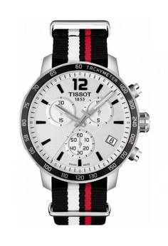 harga TISSOT Quickster Nato Chronograph Jam Tangan Pria T0954171703701 - Nato - Black Zalora.co.id