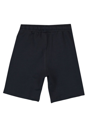 LC Waikiki black Boy's Drawstring Shorts 0567AKA35F3102GS_1