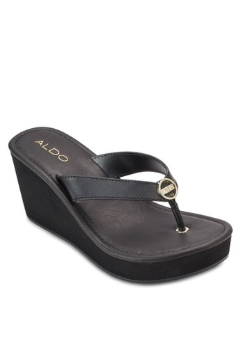 Wadoesprit hk storeng 夾腳楔型涼鞋, 女鞋, 鞋