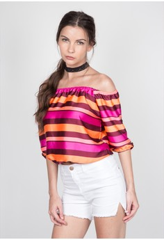 Adrianna Off-the-Shoulder Top