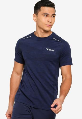 361° blue Running Series Short Sleeve T-Shirt 2955DAA9DFA17FGS_1