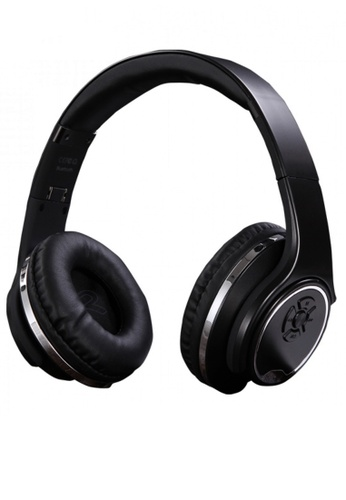 Latest Gadget black SODO 5 In 1 Bluetooth Headset Speaker Convertible With FM Mp3 Player And Line In 8927EAC316079CGS_1