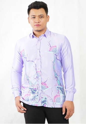 batik house my purple LONG SLEEVE BATIK MALAYSIA BHBM24-111 (LIGHT PURPLE) 75618AA6DB1C1CGS_1