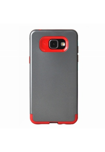 Shop MobileHub Slim Fit Hybrid Shockproof Case for Samsung Galaxy A5 2016 (A510) Online on ZALORA Philippines