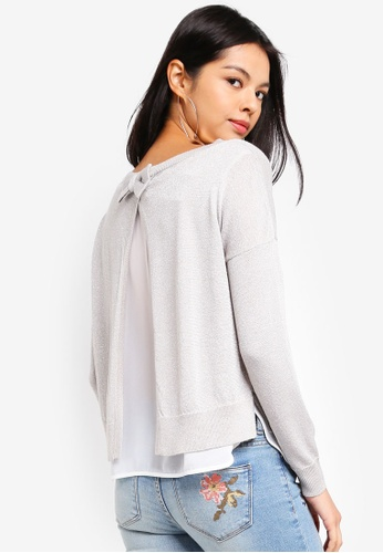 ONLY grey Darling Shen Pullover 6FF1CAAAC464C9GS_1