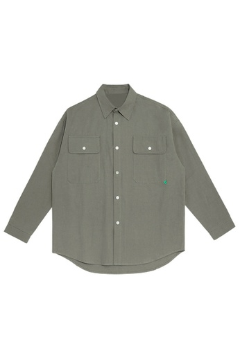 Twenty Eight Shoes Overshirt With Pockets 2092W20 ED534AADE8624AGS_1
