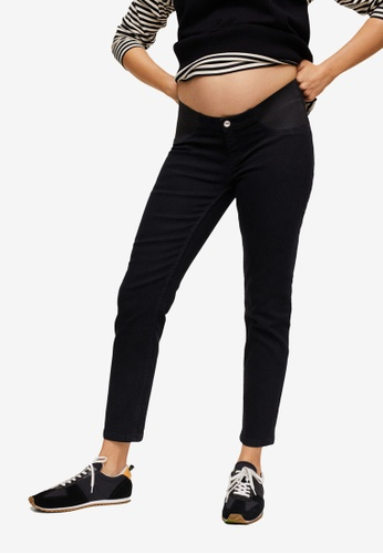 Mango black Maternity Mid-Rise Jeans C4ADBAA9C486FAGS_1
