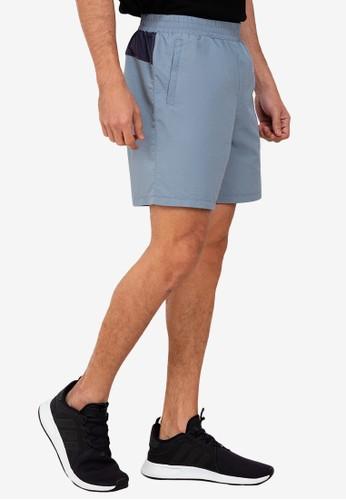 ZALORA ACTIVE grey Mesh Gusset Shorts 8C73FAAD026D20GS_1