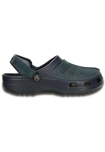 Crocs blue and navy Yukon Mesa Clog CR883SH05FBEMY_1