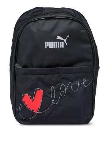 PUMA black Valentine's Backpack 11579ACB861B23GS_1