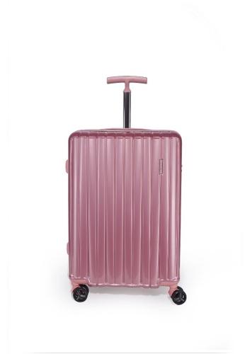 "Valentino Creations pink Mercury Luggage 24"" 730F3AC8C425DBGS_1"