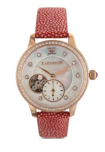 Australis 暗紋真皮女裝手錶, esprit 品牌錶類, 飾品配件