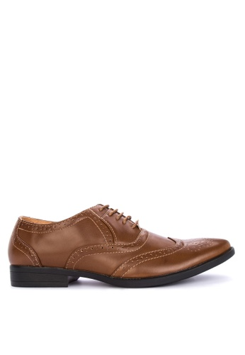 Preview brown Zeno Formal Shoes 6DB0DSH264FEF1GS_1