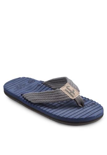 撞色esprit地址寬帶拖鞋, 鞋, 鞋