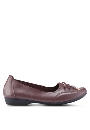 Louis Cuppers brown Bow Loafers 10728SHE0AD15EGS_1