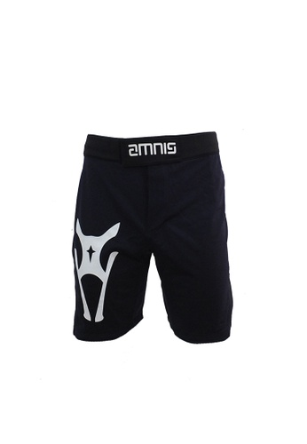 AMNIG navy Amnig Men Fighter Shorts-15 (Navy/white) AM133AA56JJFMY_1