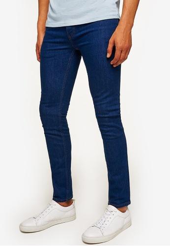 f8f974c8 Shop Topman Raw Hem Stretch Skinny Jeans Online on ZALORA Philippines