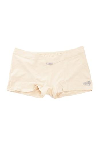 Eve Maternity beige Comfort Boxer Maternity Pants EV584US11LYEID_1