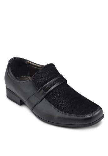 拼接正裝皮鞋zalora 衣服尺寸, 鞋, 鞋