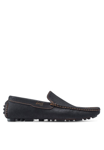 Louis Cuppers black Casual Moccasins LO977SH73ZJYMY_1